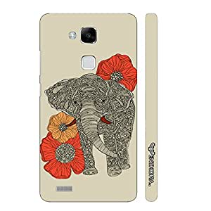 Huawei Ascend Mate 7 Flora Giant designer mobile hard shell case by Enthopia