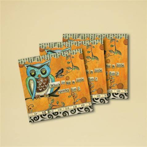 Spooky Fun Beverage Napkins Set of 16
