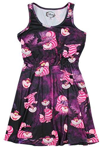 Disney Alice In Wonderland Cheshire Cat Print Dress