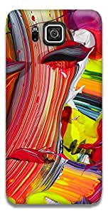 The Racoon Grip printed designer hard back mobile phone case cover for Samsung Galaxy Alpha. (A Splash)