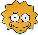 The Simpsons - Lisa - Card Face Mask - Licensed Product