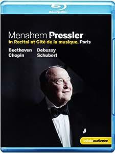 Menahem Pressler in Recital at Cite de la musique Paris [Blu-ray] [Import anglais]