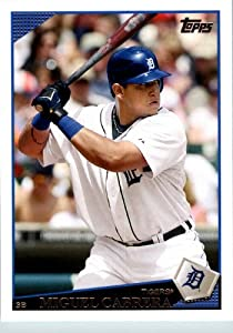 2009 Topps Team Edition Detroit Tigers Baseball Card # DET1 Miguel Cabrera Mint... by Topps