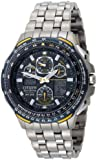 Citizen #JY0050-55L Men's Eco Drive Titanium A-T Skyhawk Blue Angels Watch