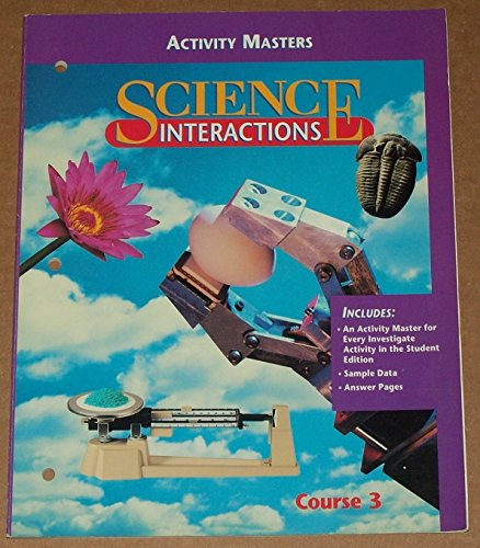 Activity Masters (Science Interactions, Course 3) PDF