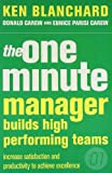 img - for The One Minute Manager Builds High Performing Teams book / textbook / text book