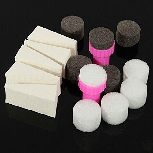 1-Set-Beautiful-Nail-Polish-Sponge-Manicure-Transfer-Template-with-Black-and-White-Changeable-Sponges