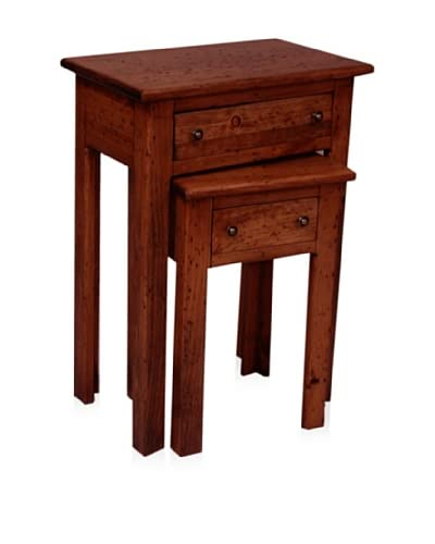 2 Day Designs  Nesting Tables, Black