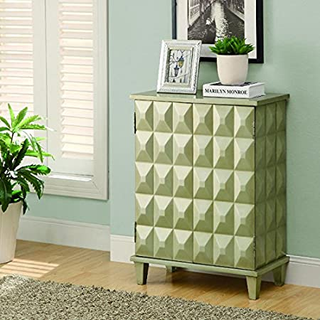 Monarch Contemporary Bombay Chest, Brushed Gold