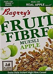 Bagrry's Fruit n Fibre Muesli, Apple, 400g