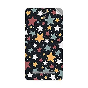 Garmor Designer Mobile Skin Sticker For Lava Iris FUEL 10 - Mobile Sticker