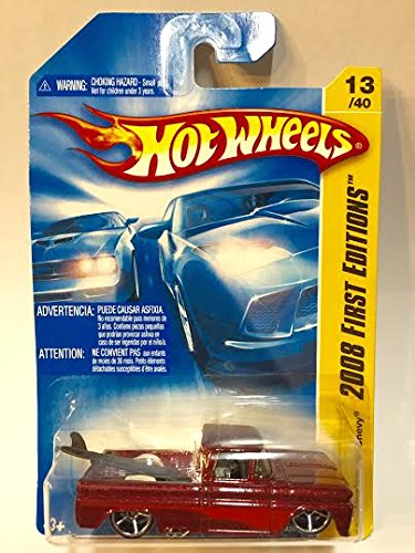 Hot Wheels Custom '62 Chevy with Board, #13 2008 1/64