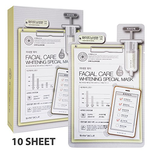 S-Miracle Facial Care Special Mask -Whitening - 1