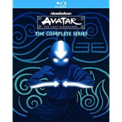 Avatar The Last Airbender: The Complete Series [Blu-ray]