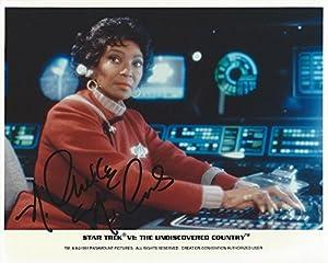Star Trek Uhura 8x10 Photo Signed Autographed By Nichelle Nichols