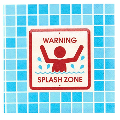 Splashin' Pool Party Beverage Napkins (20)
