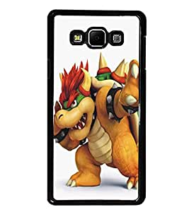 PrintDhaba Cartoon D-5372 Back Case Cover for SAMSUNG GALAXY A8 (Multi-Coloured)