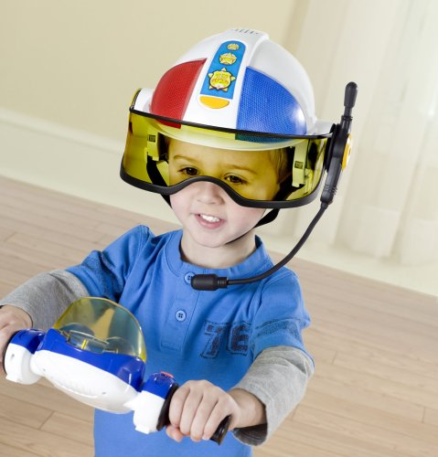 Playskool adventure squad police comment and review - Playskool helmet heroes police officer ...
