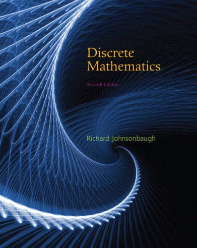 Discrete Mathematics (7th Edition)