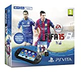 Sony PlayStation Vita Console with FIFA 15 Voucher Plus 4GB Memory Card
