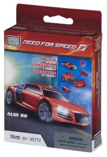 Mega Bloks 95772 Need for Speed Audi R8 Auto Fahrzeug