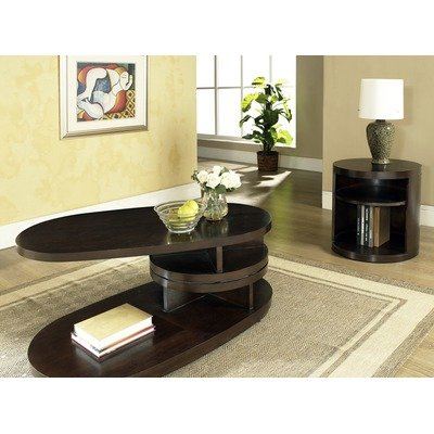 Buy Low Price Isabelle Corner Wedge Lift Top Coffee Table In Multi Step Dark Cherry Is200cwl