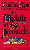 Candace Robb The Riddle Of St Leonard's: An Owen Archer Mystery (Owen Archer Mysteries 05)