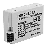 SODIAL(R) LP-E8 Compatible Li-ion Battery for Canon EOS Rebel T2i
