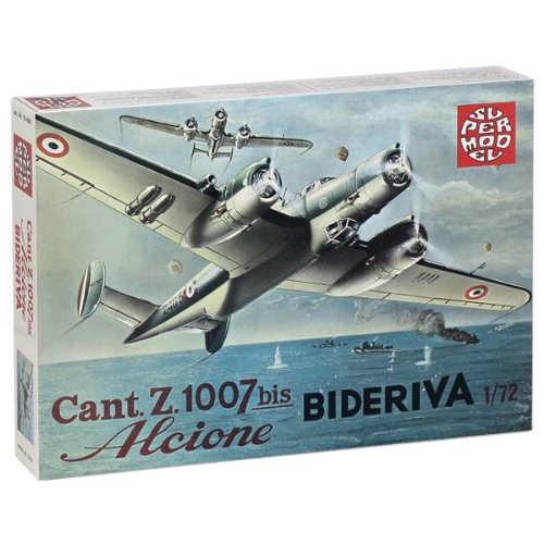 Italeri - I10-006 - Maquette - Aviation - Cant Z.1007 Alcione