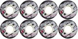 2nd Regime 8 Aggressive 54mm Ian Mcleod Inline Wheels, Gray