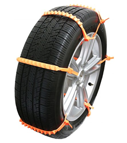 Zip Grip Go Cleated Tire Traction Device for Cars, Vans and Light Trucks (Tires Zip Ties compare prices)