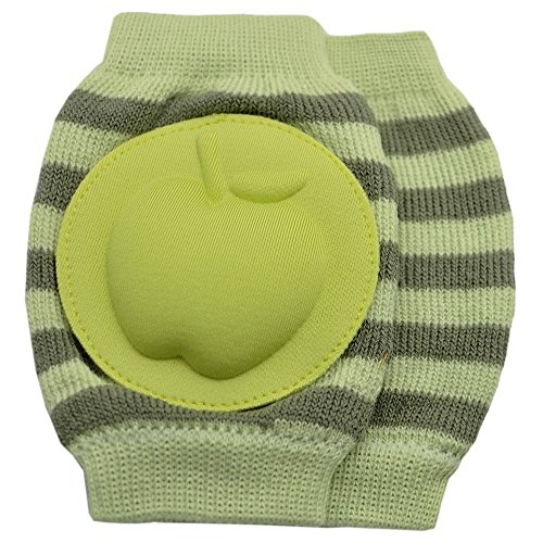 New Baby Crawling Knee Pad Toddler Elbow Pads 8055213 Green-grey