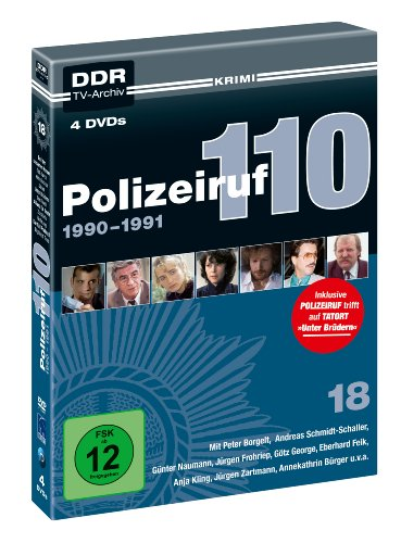 Polizeiruf 110 - Box 18: 1990 - 1991 (DDR TV-Archiv - 4 DVDs)