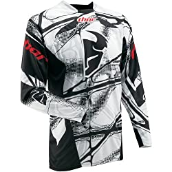 Thor MX Core Scorpio Youth Boys Off-Road Motorcycle Jersey - White