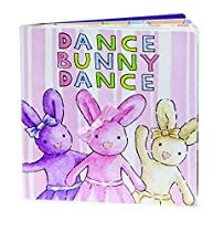 Jellycat Board Books, Dance Bunny Dance - 6 inches