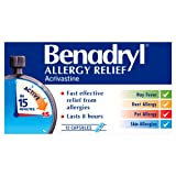 Benadryl 'Effective in 15 Minutes' Allergy Relief - 12 Capsules