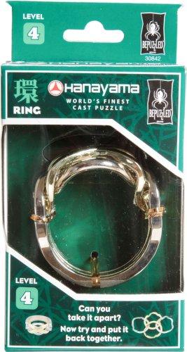 RING Hanayama Cast Metal Brain Teaser Puzzle (Level 4)