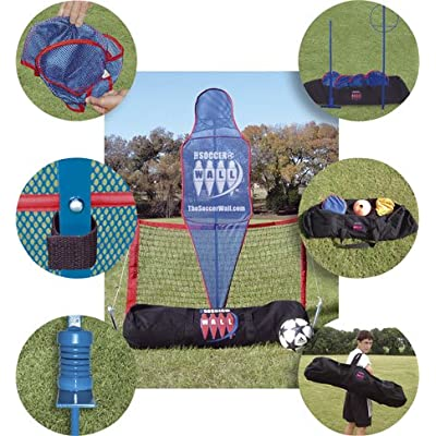 Soccer Wall Set and football mannequin training kit