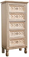 Hives and Honey 8220Abby Jewelry Armoire Antique Ivory