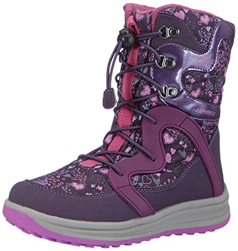 GeoxJ ROBY B GIRL ABX B - Scarponi da neve imbottiti, a mezza gamba Ragazza , Viola (Violett (C8267VIOLET/PURPLE)), 32