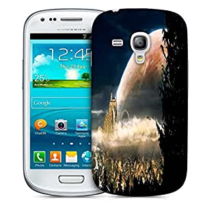 Snoogg Fantasy Landscape Church Designer Protective Phone Back Case Cover For Samsung Galaxy S3 Mini