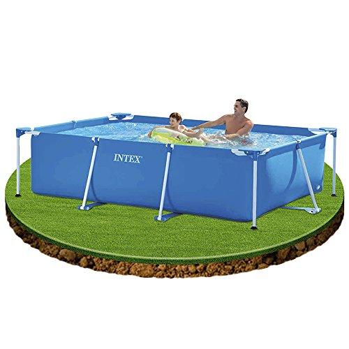 Mac due intex 28271 piscina rettangolare piscine for Accessori per piscine intex