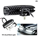 PR 6 LED FOG LIGHT/WORK LIGHT BAR SPOT BEAM OFF ROAD DRIVING LAMP 1 PC-Maruti Alto 120