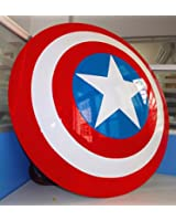 Gmasking ABS Captain America Adult Shield Life Size Prop Replica+Adjustable Straps