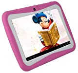 Loco Gadgets Kids Tablet PC 7 Inch Android 41 Jelly Bean RK2926 1GHz 4GB Dual Camera WIFI pink