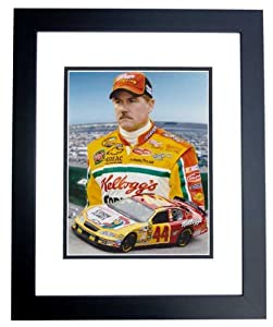 Terry Labonte Unsigned Kelloggs Racing 8x10 inch Photo - BLACK CUSTOM FRAME by Real Deal Memorabilia