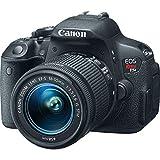 Canon EOS Rebel T5i DSLR Camera with 18-55mm IS STM Lens (Certified Refurbished)
