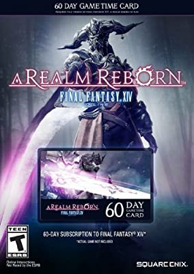 Final Fantasy XIV: A Realm Reborn 60 Day Time Card [Online Game Code]