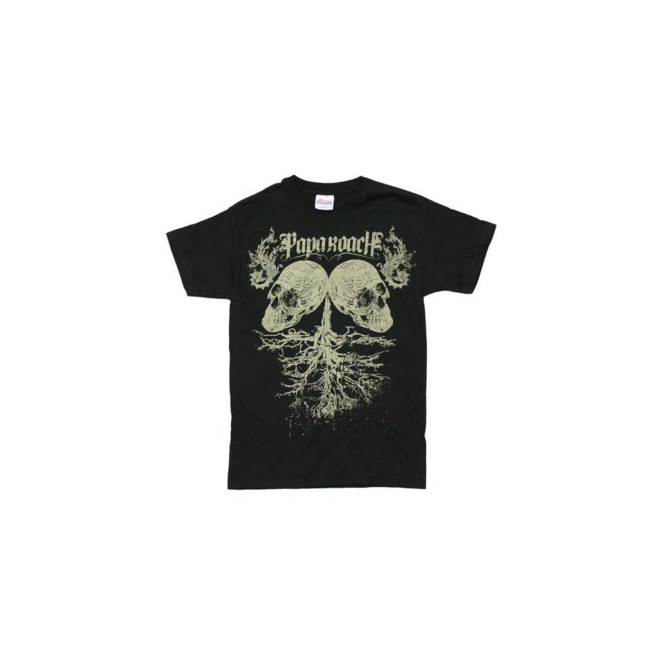 Papa Roach   Skull Tree T Shirt   Small