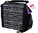 Rubbermaid 1813501 Lunch Blox medium durable bag - Black Etch
